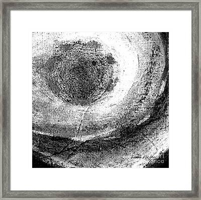 Luz De Luna / Moonlight -square Format Framed Print by Laura Gomez