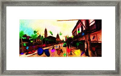 Luz Station Framed Print by Caito Junqueira