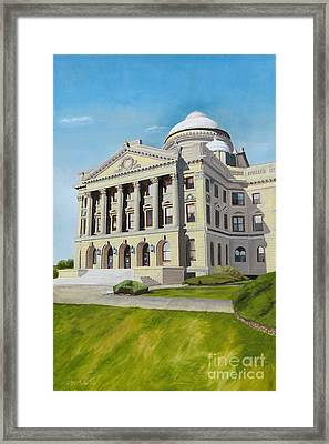 Luzerne County Courthouse Framed Print