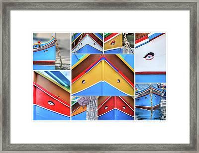 Luzzu Framed Print