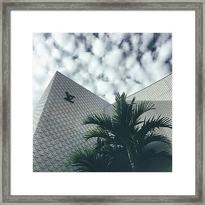 Lv Miami Framed Print