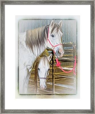Lvha_ Digital Art Painting #1 Framed Print