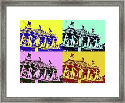 Lviv Opera House Framed Print