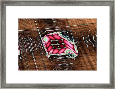 Lyapunov No. 47 Framed Print by Mark Eggleston