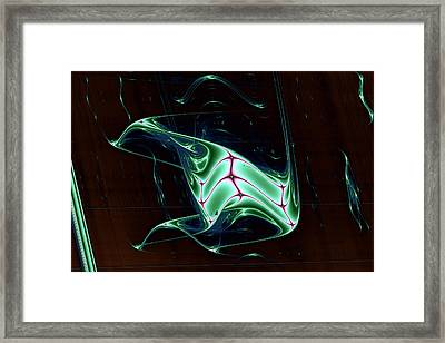 Lyapunov No. 59 Framed Print by Mark Eggleston