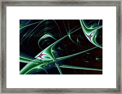 Lyapunov No. 60 Framed Print by Mark Eggleston