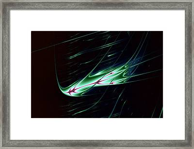 Lyapunov No. 61 Framed Print by Mark Eggleston