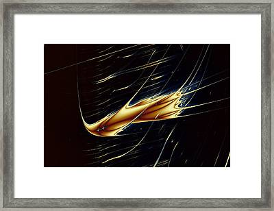 Lyapunov No. 62 Framed Print by Mark Eggleston