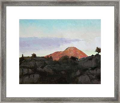 Lyderhorn II Framed Print by Arild Amland