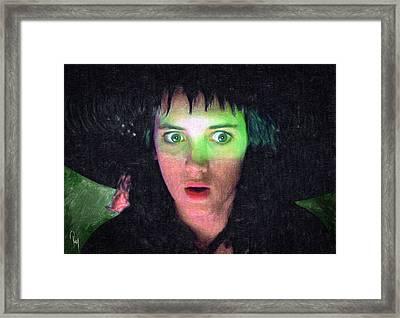 Lydia Deetz Framed Print by Taylan Apukovska