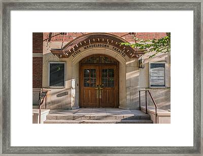 Lydia Mendelsson Theatre  Framed Print