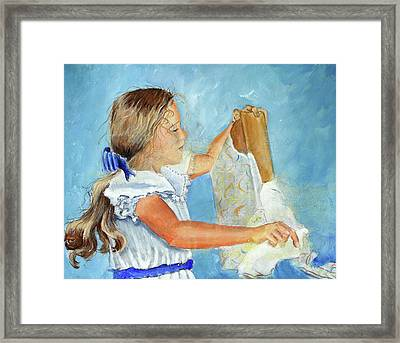 Lydia's 9th Birthday Framed Print
