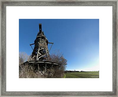 Lydinge Windmill Framed Print by Robert Lacy