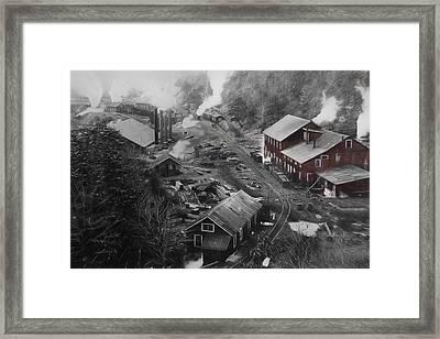 Lykens Valley Mining Framed Print