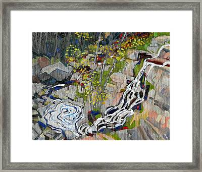 Lyn Hairpin Framed Print by Phil Chadwick