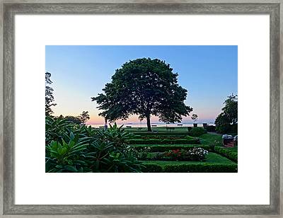 Lynch Park At Dawn Beverly Ma Framed Print