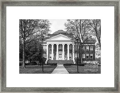 Lynchburg College Hopwood Hall Framed Print by University Icons