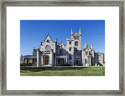 Lyndhurst Mansion Framed Print