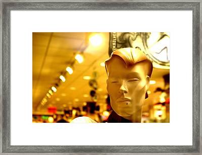 Lyndsey Framed Print by Jez C Self