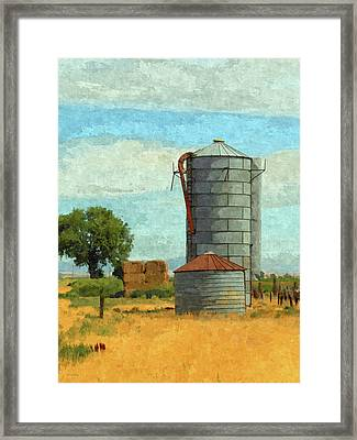 Lyndyll Farm Framed Print