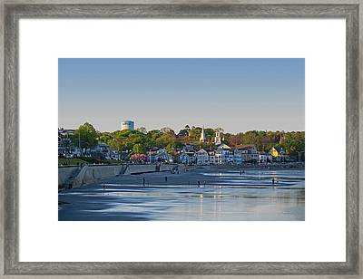 Lynn Waterfront Swampscott Water Tower Lynn Ma Framed Print