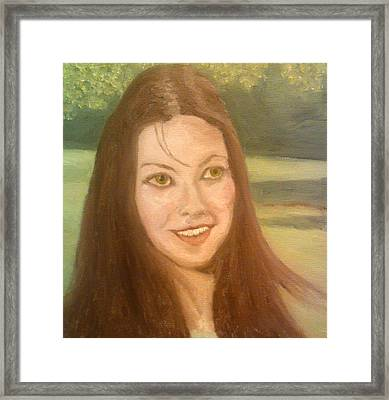 Lynne Frederick  Framed Print