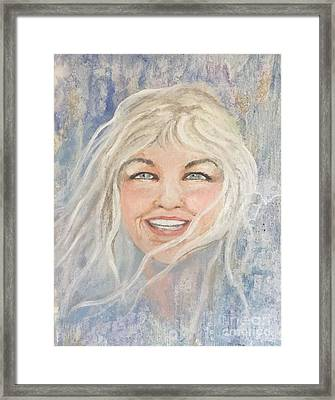 Lynnportrait Of A Young Woman  Framed Print