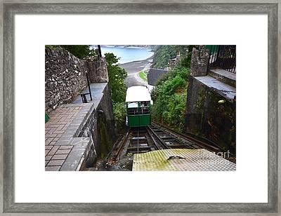 Lynton And Lynmouth Cliff Railway Framed Print by Nichola Denny