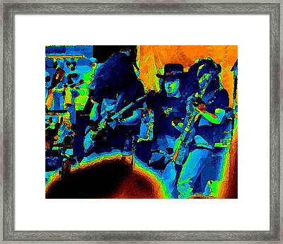 Framed Print featuring the photograph L S Pastel Oakland 2 by Ben Upham
