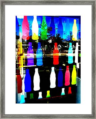 Lyon Coke Wall Funk  Framed Print by Funkpix Photo Hunter