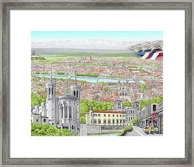 Lyon France Framed Print by Albert Puskaric