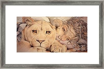 Lyonesse Framed Print by Johanna Pieterman