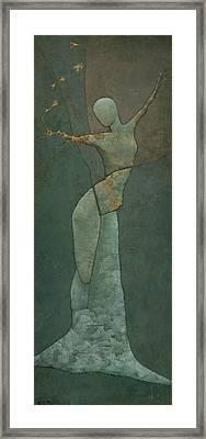 Lyra's Spell Framed Print by Steve Mitchell