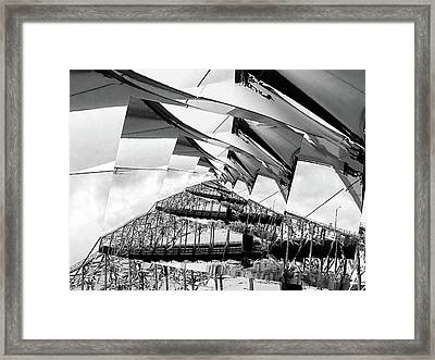 Lyrical Deconstruct Framed Print by Wendy J St Christopher