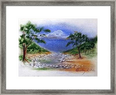 Lytle Creek Framed Print