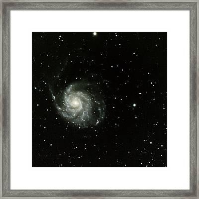 M-101, The Pinwheel Galaxy Framed Print
