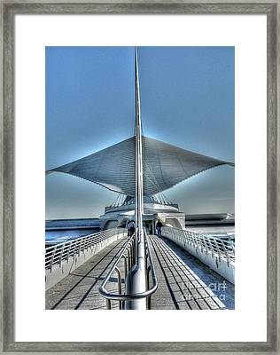 M A M Unfurled Framed Print by David Bearden