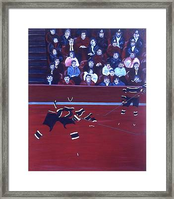 M C Framed Print by Ken Yackel