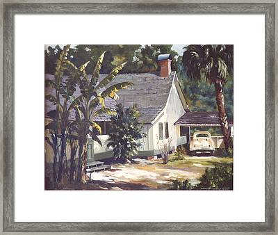 M. K. Rawlings House  Framed Print by Marion  Hylton
