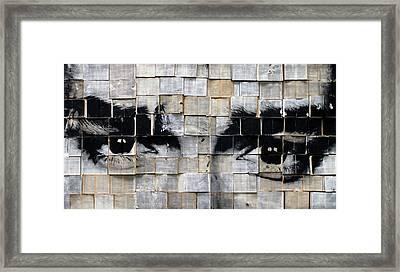 M. Framed Print by Katarzyna Puchala