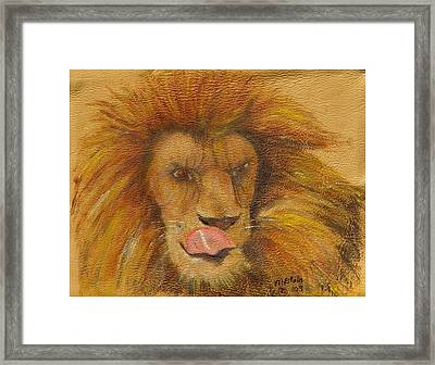 m-m-m- Good Framed Print by Merle Blair