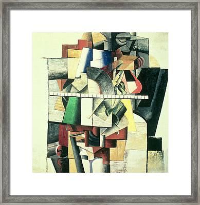 M Matuischin Framed Print by Kazimir Severinovich Malevich