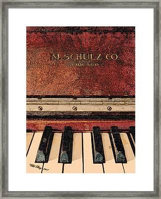 M Schulz Framed Print by Wild Thing