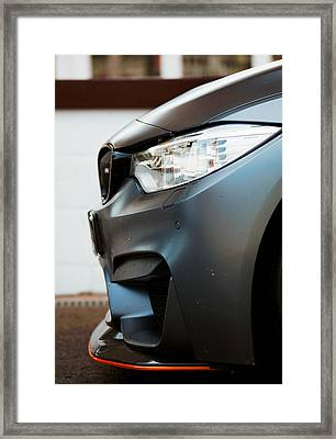 M4 Gts Profile Framed Print