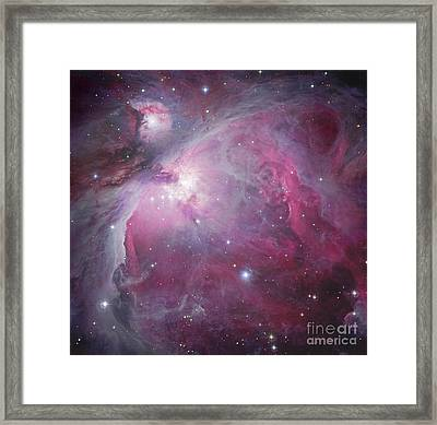 M42, The Orion Nebula Framed Print by Robert Gendler