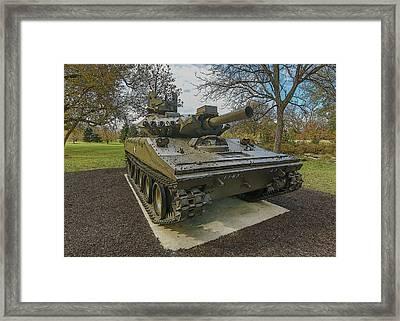 M551a1 Sheridan  Framed Print by Greg Thiemeyer
