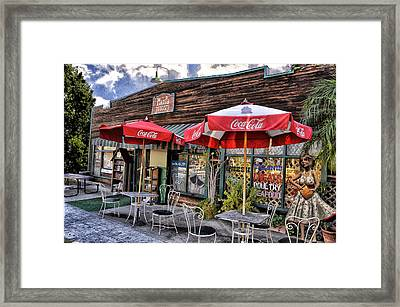 Ma And Pa Framed Print by Bob Winberry