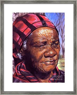 Ma Dea Framed Print by Curtis James