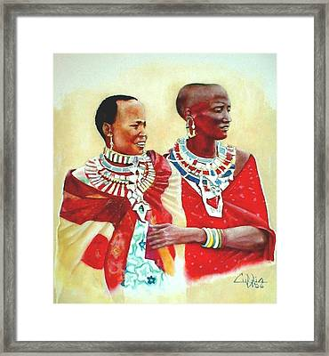 Maasisters Framed Print by G Cuffia