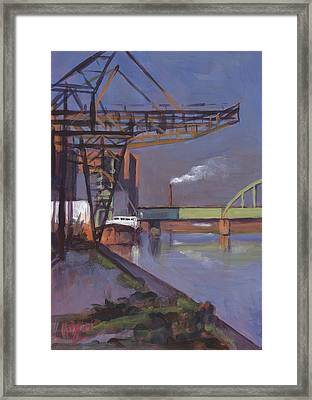 Maastricht Industry Framed Print